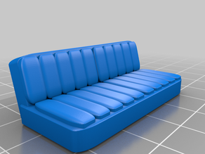 """Simple Bench Seat (for """"Boat"""" by Alireza)"""