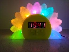 WeMos Flower Alarm Clock