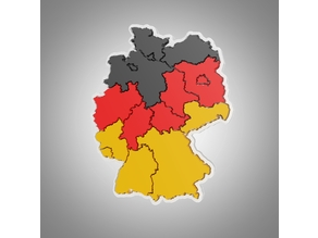 Germany Map Puzzle