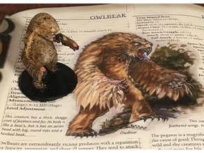 Owlbear through the ages- 3.0/3.5 D&D