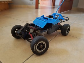 Traxxas 1/16 Chassis / Body Mod