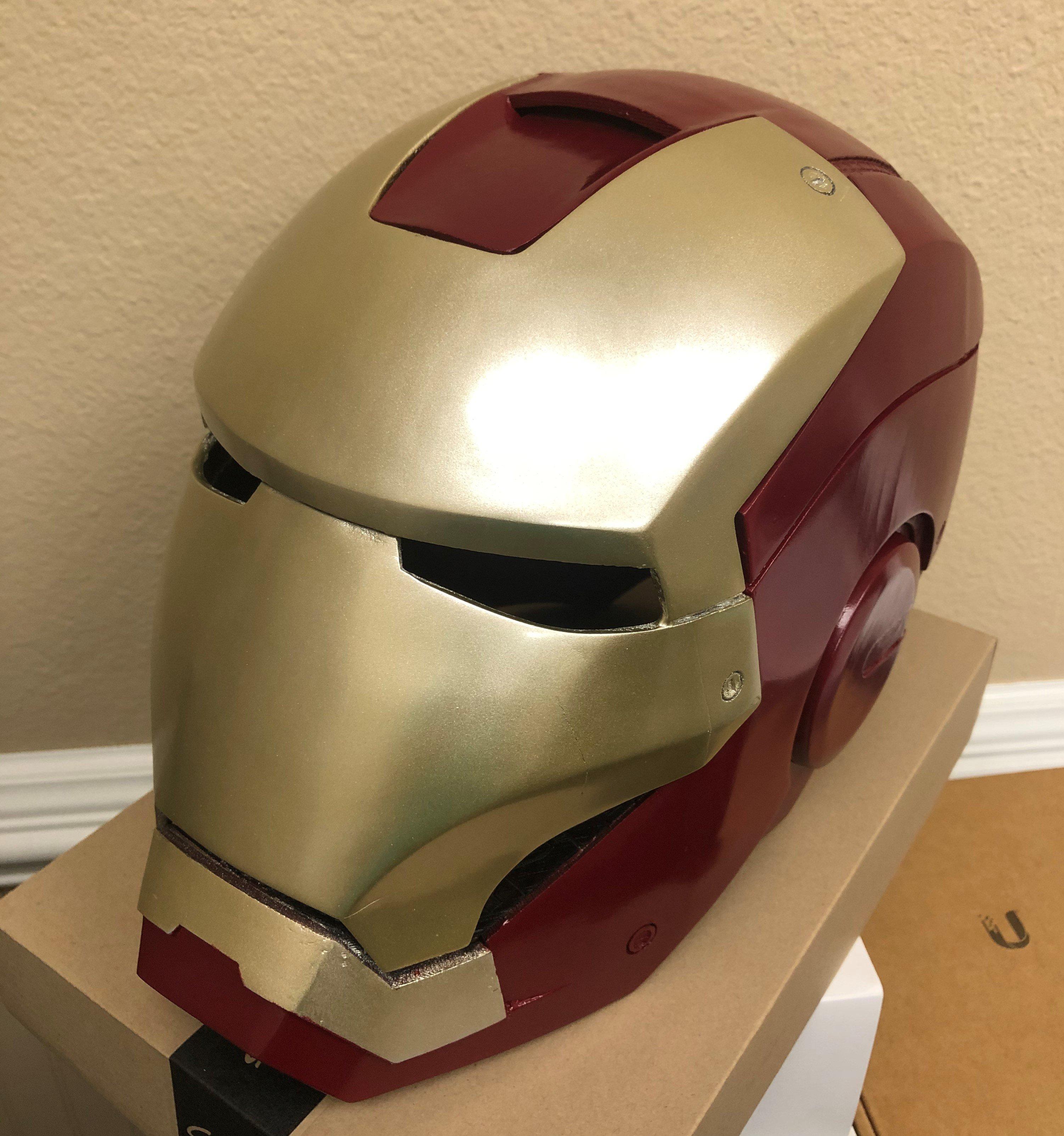 Iron Man MK3 Helmet \u0026quot;Definitive\u0026quot; Remix by Jasonmk - Thingiverse