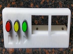 3dpLaser Control Panel