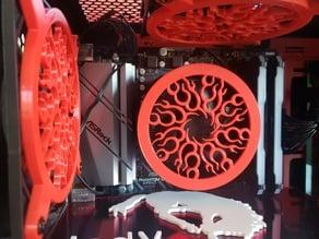 CPU fan cover