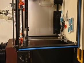 Tronxy X5S Z brackets for mounting inside