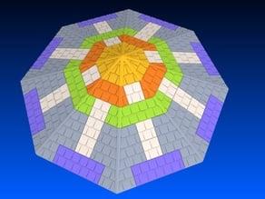 Exin Castillos - Tejados octogonales modulares