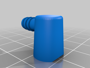 Adaptor for Can end to 5mm hose