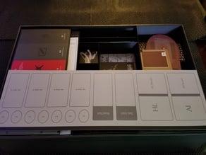 Kingdom Death - Box Organizer, Token Trays, Extras