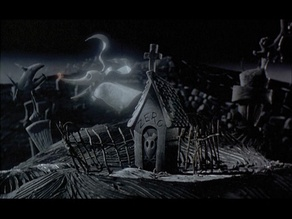 Zero Dog House/Tombstone Nightmare Before Christmas