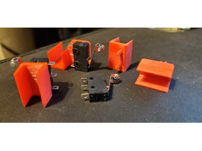 CNC 3018 Upgraded Endstop Switch Mount Clips