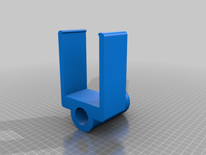 Expending fence support for wall