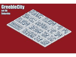 GreebleCity Set 08: Suburbia