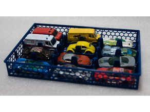 Einsatz/Korb für Hotwheels/Machtbox Koffer/Box - Insert/basket for Hotwheels/Matchbox Case/Box