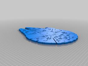 Millenium Falcon Clock