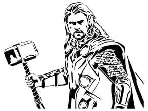Thor stencil 3