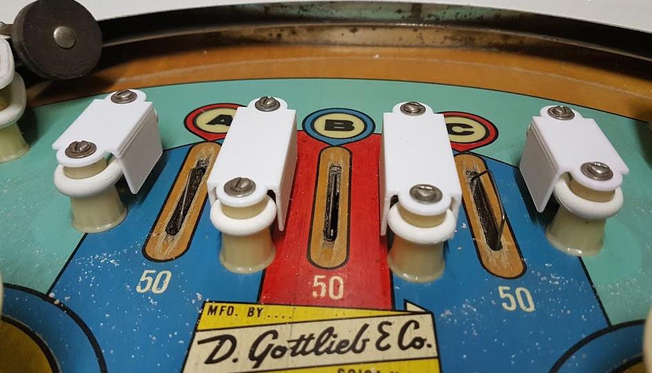 Gottlieb Pinball ball guides