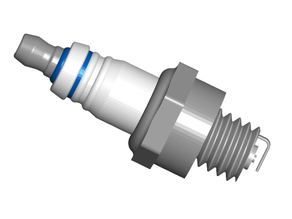 Spark Plug Refrigerator / Whiteboard Magnets