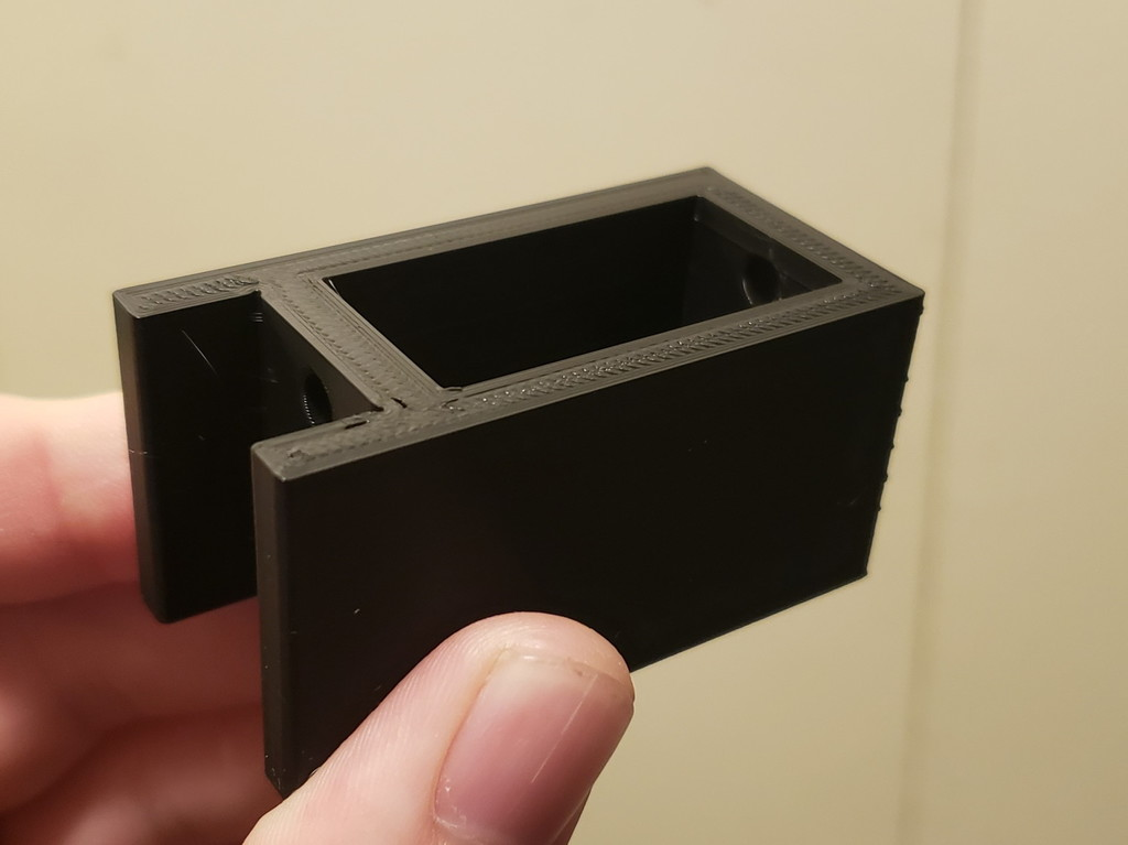 V-slot mounted side-laying risers for CR-10