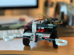 Micro Switch mount for a robot wall detector using an 8020 Series 10 beam