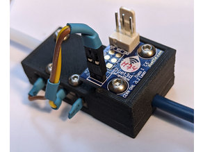 Laser Filament Monitor housing with Switch for Duet