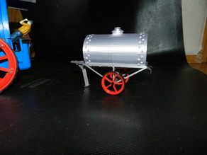 Trailer with boiler for steam tractor 1530768