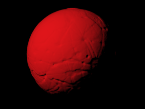 Mars 1962 reconstruction scaled one in sixty million