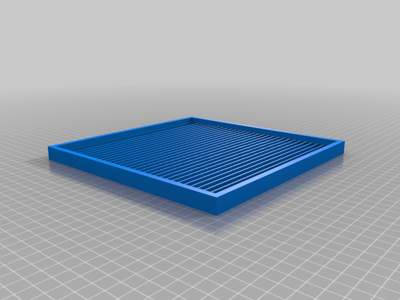 sluice mat mold with boarder