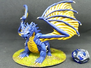 Blue Dragon for 28mm Tabletop Roleplay