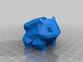 Low Poly Bulbasaur Apple Watch Charger Dock