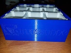 Box for Carcassonne tiles