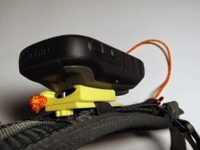 Garmin clamp for backpack
