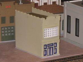 HO Scale Main Street Four