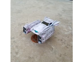 Double Rotor (Tall) Pod Engines for MRF (Gaslands)