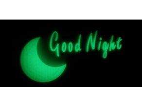 Good Night Wall Decal