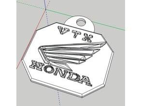 Honda VTX Keychain