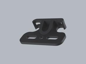 Rear reflector saddle mount