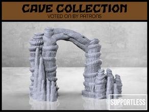 Cave Entrance - Version 2 - Tabletop Scatter Terrain