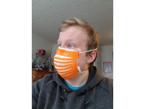 FlexMask - 3D Printed Face Mask