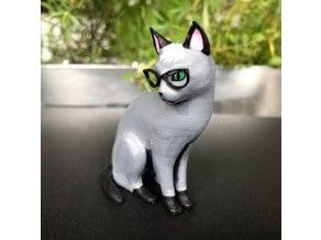 Realistic Raymond Cat - Animal Crossing