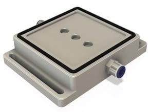 Customizable pad for vacuum tensioning