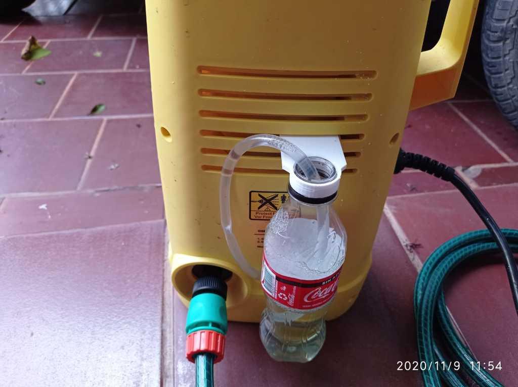 Karcher K1 detergent bottle hanger