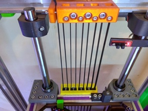 Pulley block for Z axis for 2020 or 4020 table