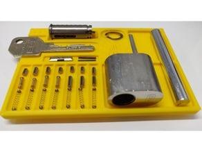 Lock Pinning Tray SP (ASSA 7 pins)