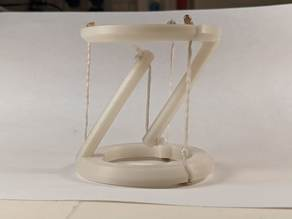 Tensegrity Table   NO SUPPORTS/EASY PRINT   Lensor Radii