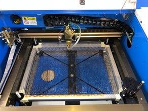 K40 Laser Bed enhancement / Laser Bett Erweiterung