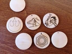 Laser Engraver Wood Chip Holder