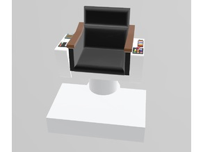 Multi-Material Star Trek TOS Kirk's Command Chair