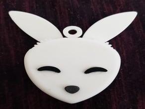 Mechanical Bunny Pendant