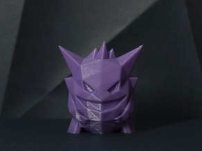 Gengar Low-poly Pokemon