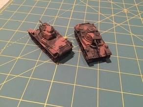 1/72 Stridsvagn m/38